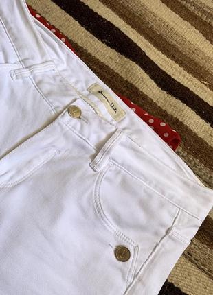 Massimo dutti джинсы штаны брюки массимо 36 дутти белые