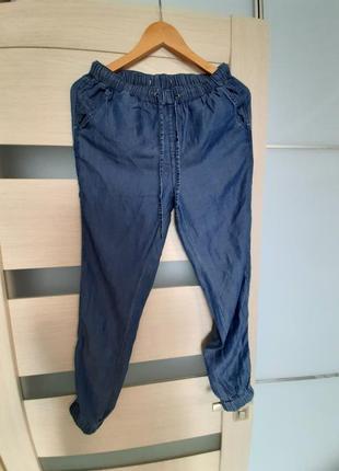 Летние джинсы. летний коттон