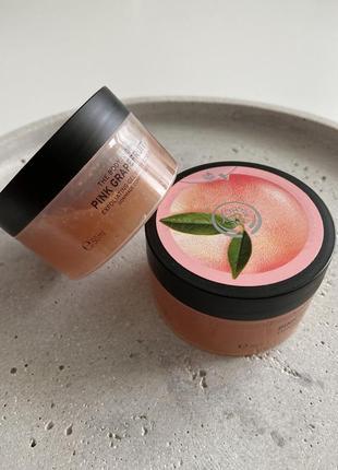 Скраб для тела pink grapefruit exfoliating gel body scrub 50мл