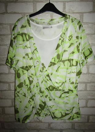 Красивая футболка блуза р-р 14-16 сост новой canda