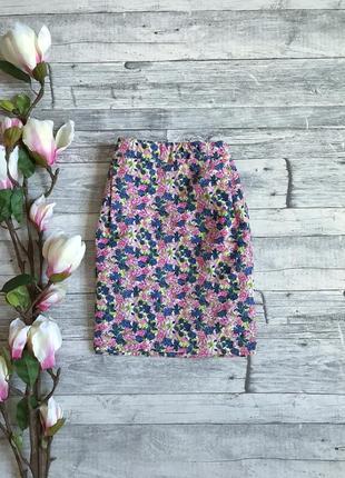 Красивая цветочная юбочка