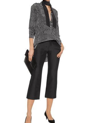 Шикарная шёлкова блуза от люксового бренда kate moss