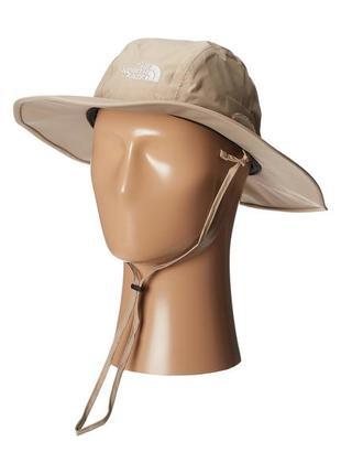 Туристическая шляпа панама идеальный бренд the north face hyvent hiker hat