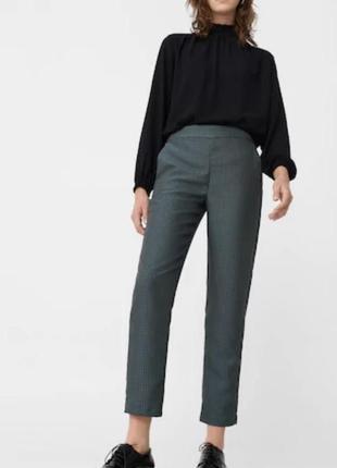 Штани классические брюки mango