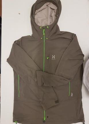 Куртка haglofs оригинал, climatic тефлон мужская l