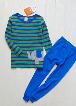 Pusblu. размеры 3 года и 4 года. новая яркая пижама для мальчика