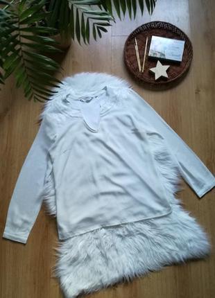 Легкая блузочка naf naf.