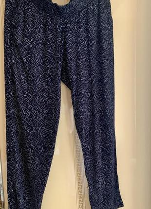 Легкі штани для вагітних, легкие брюки для будущих мам h&m