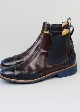 Фирменные ботинки челси в стиле clarks ecco geox