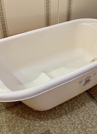 Ванночка для немовлят ванна детская со сливом