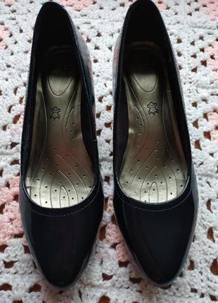 Женские туфли # туфли на низком каблуке # удобные туфли