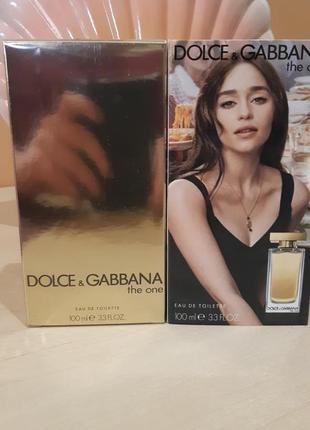 Духи парфюм женский dolce&gabbana the one 75 ml женский