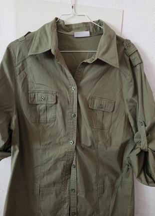 Супер сорочка-плвття хакі