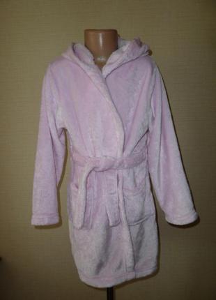 Мягкий нежный халат на 7-8 лет