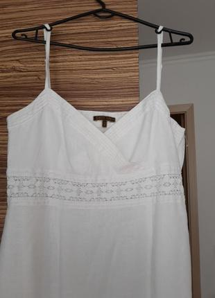 Льянное платье