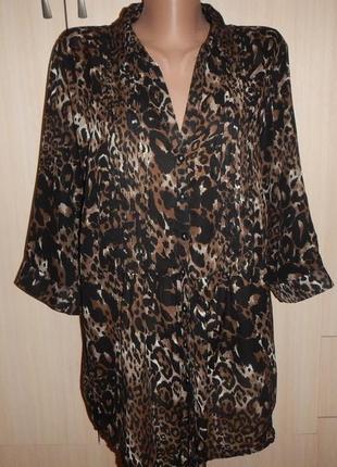 Легкая блуза bm р.18 ( xxxl )