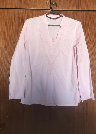 Рубашка с бисером