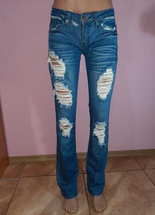 Брендовые стильные джинсы
