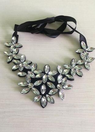 Ожерелье колье светлый