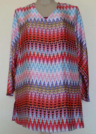 Доступно - яркая блуза *bodyflirt* 14/42 р.
