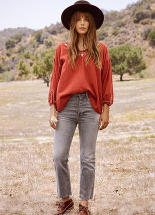 Брендовые женские джинсы прямого кроя d&g-оригинал