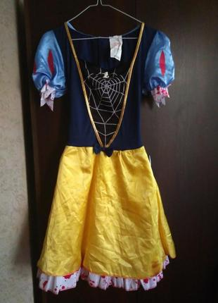 Платье белоснежки/карнавальное платье