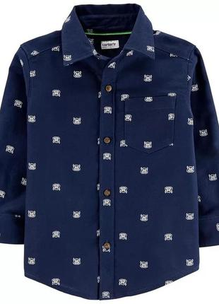 Стильная рубашка для мальчика carter's