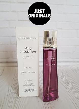 Givenchy very irresistible  eau de parfum тестер оригинал