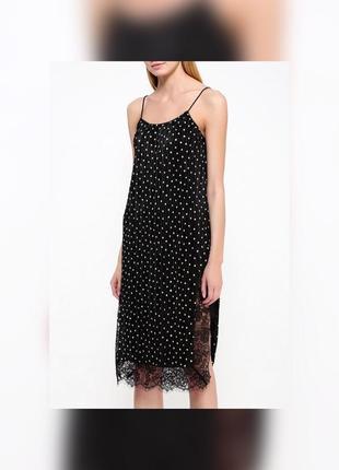 Платье комбинация topshop