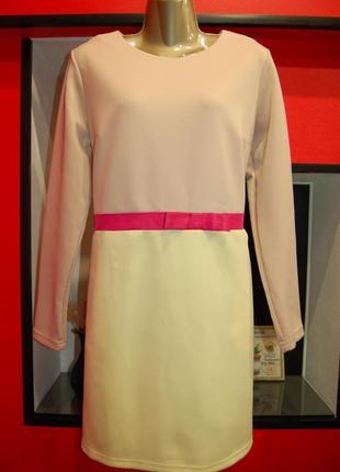 Фирменное платье-трапеция с рукавами, новое ❗️❗️❗️ большой размер