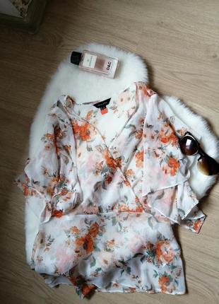 Шикарный топ-блуза