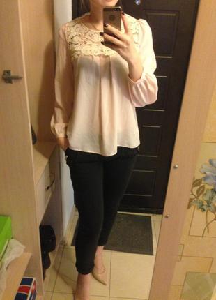 Очень нежная блуза