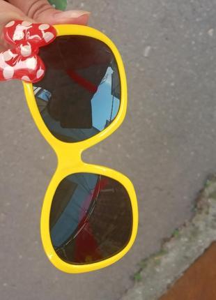 Стильные качественные актуальные универсальные необычные очки стиль минни
