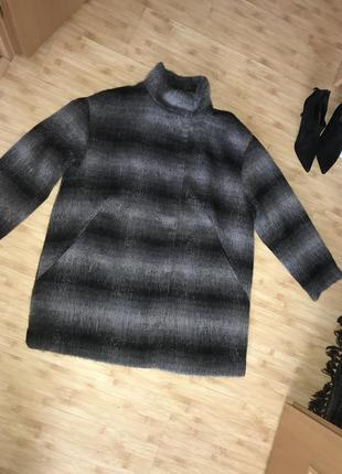 Пальто кардиган кофта на подкладке куртка льогкое