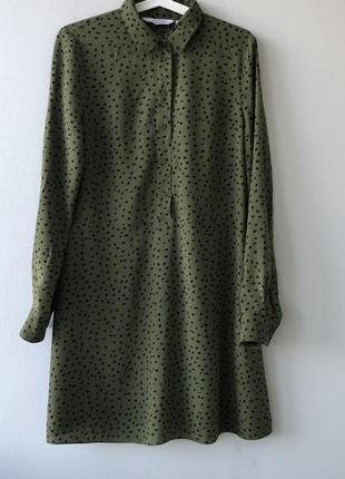 Маленькое легкое платье принт & other stories в стиле allsaints