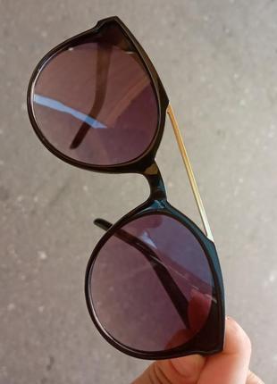 Стильные качественные актуальные универсальные необычные очки для девочки и для мальчика