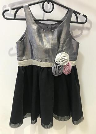 Плаття для дівчинки фатин h&m