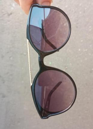 Стильные качественные актуальные универсальные очки для девочки и для мальчика