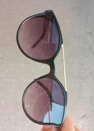 Стильные качественные актуальные универсальные необычные очки для мальчика и для девочки