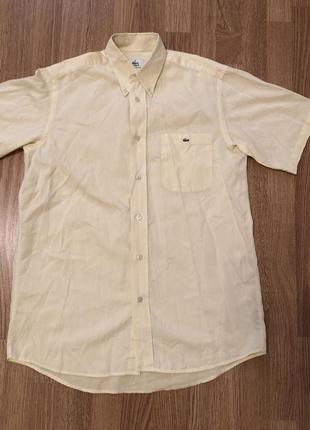 Оригинальная рубашка lacoste, 100% хлопок