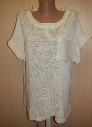 Трикотажная блуза оверсайз store twenty one p.l блуза