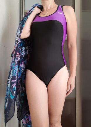 Купальник женский цельный спортивный для бассейна с-м