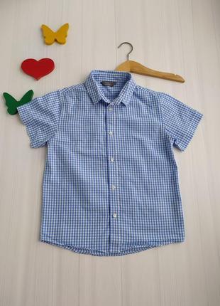 6-7 лет рубашка primark