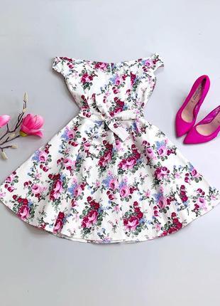 Очень красивое летнее платье в цветочный принт