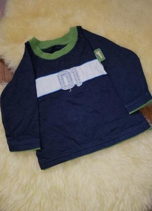 Трикотажная кофточка, на малыша 3 месяца marks & spencer