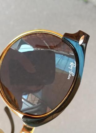 Стильные крутые круглые актуальные шикарные очки для детей polarized