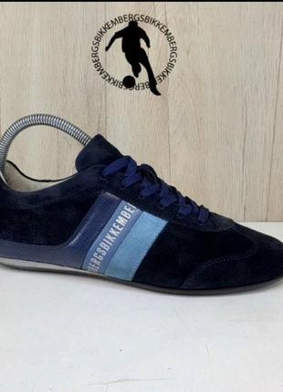 Bikkembergs кроссовки замшевые