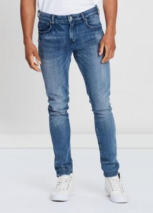 Стильные оригинальные джинсы scotch & soda skim skinny fit jeans