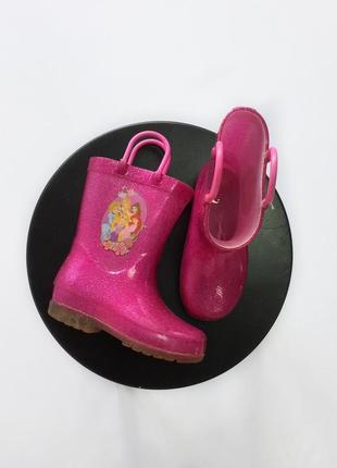 Резинові чобітки disney ,розмір 24.