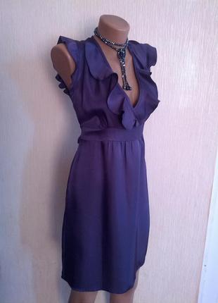 Синие платье от f&f 36